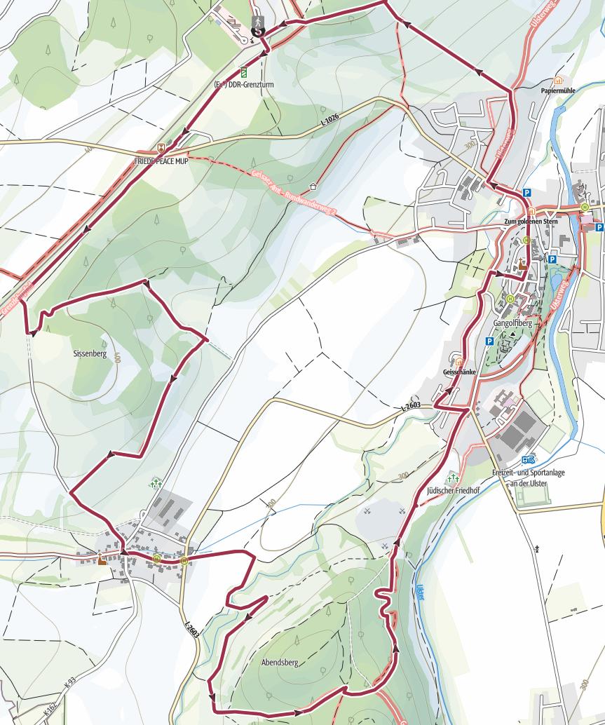 ST 1 EXTRATOUR Point-Alpha-Weg