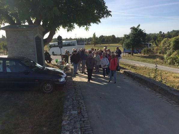 Seniorenfahrt nach Volkach (1)