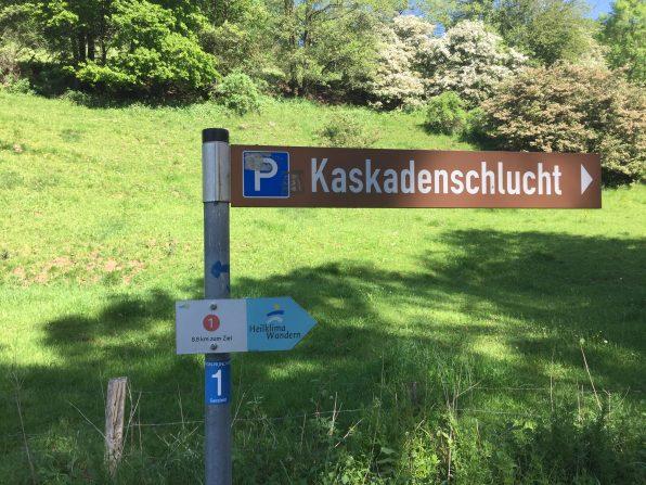 Durch die Kaskadenschlucht nach Obernhausen (1)