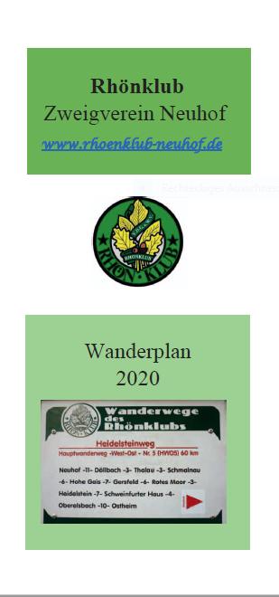 ST-HP Titelseite Wanderplan 2020